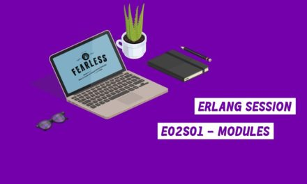 Erlang Session E02S01 – Modules